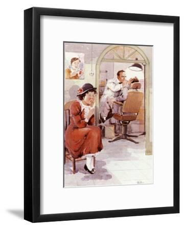 Dentist-Joaquin Moragues-Framed Art Print