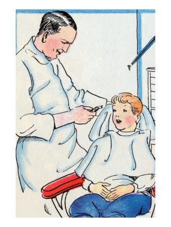 Dentist-Julia Letheld Hahn-Art Print