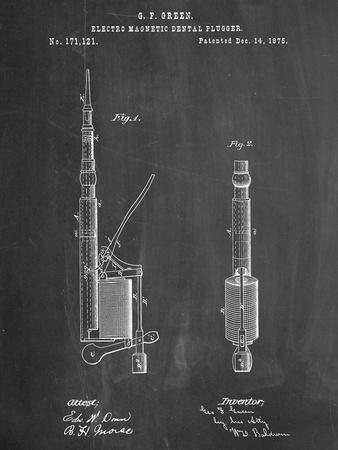 Dentists Drill Patent--Art Print