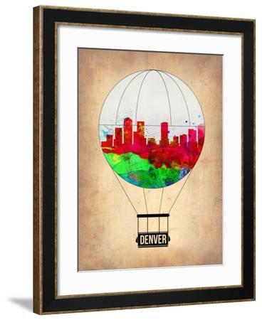 Denver Air Balloon-NaxArt-Framed Art Print