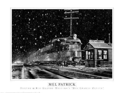 Denver and Rio Grande Western's-Mel Patrick-Art Print