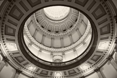 Denver, Colorado - State Capitol Building-benkrut-Photographic Print