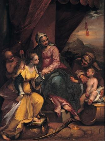 The Mystical Marriage of Saint Catherine, 1590