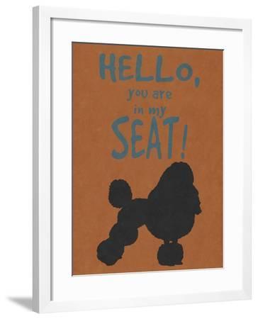 Deoge Says I--Framed Art Print