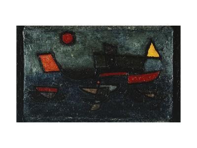 Departing Steamer-Paul Klee-Giclee Print