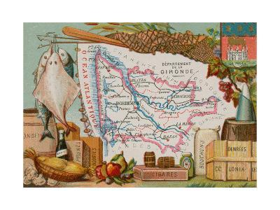Department of Gironde--Giclee Print