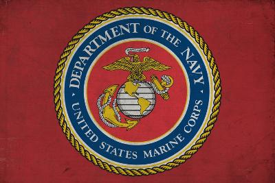 Department of the Marine Corps - Military - Insignia-Lantern Press-Art Print