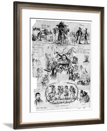 Departure for El Dorado, 19th Century-C Quirot-Framed Giclee Print