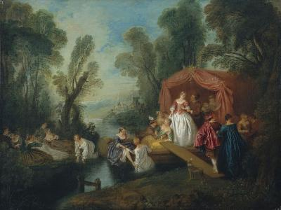 Departure for the Island of Cythera-Jean-Baptiste Pater-Giclee Print