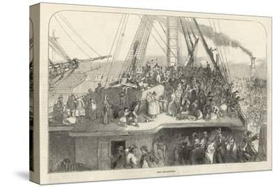 Departure of an Emigrant Ship from Liverpool for America