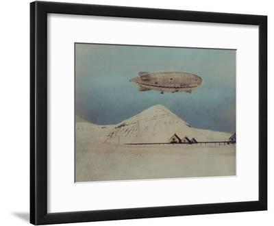 Departure of Italian Built Dirigible Norge, which Explorer Roald Amundsen Flew to North Pole
