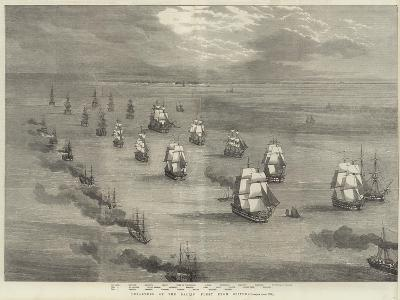 Departure of the Baltic Fleet from Spithead--Giclee Print