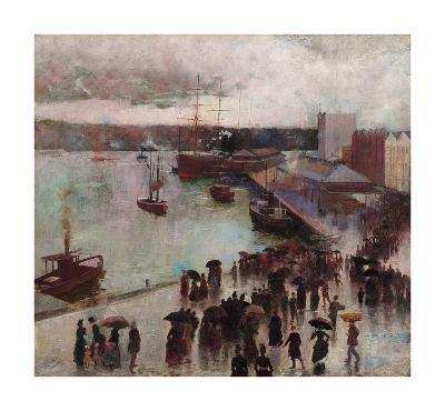 Departure of the Orient-Charles Conder-Premium Giclee Print
