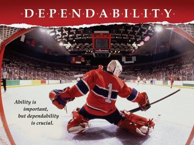 Dependability--Art Print