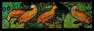 Depicting Four Partridges