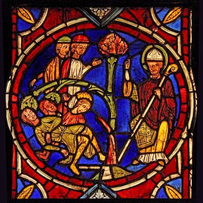 Depicting St Martin - and the Miracle of the Pine Tree (Ex Varennes-Jarcy - Originally from the…--Giclee Print