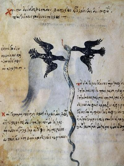Depiction of Constantinople Between Two Ravens--Giclee Print