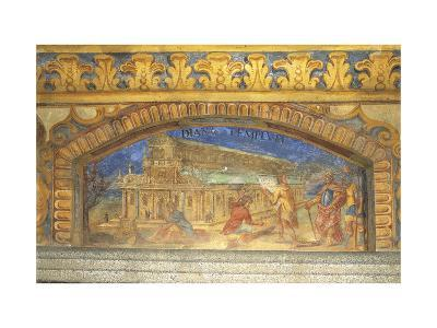 Depiction of Diana's Temple at Ephesus, Circa 1669-Nikolaus Schiel-Giclee Print