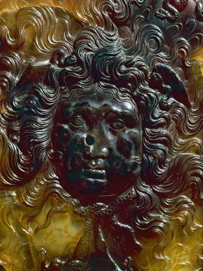 Depiction of Gorgon, Detail from Outer Edge of Farnese Cup, Libation Dish--Giclee Print