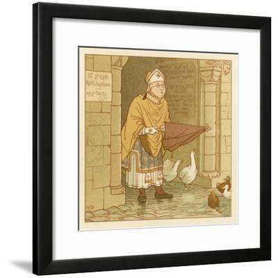 Depiction of the Month of July-Robert Dudley-Framed Giclee Print