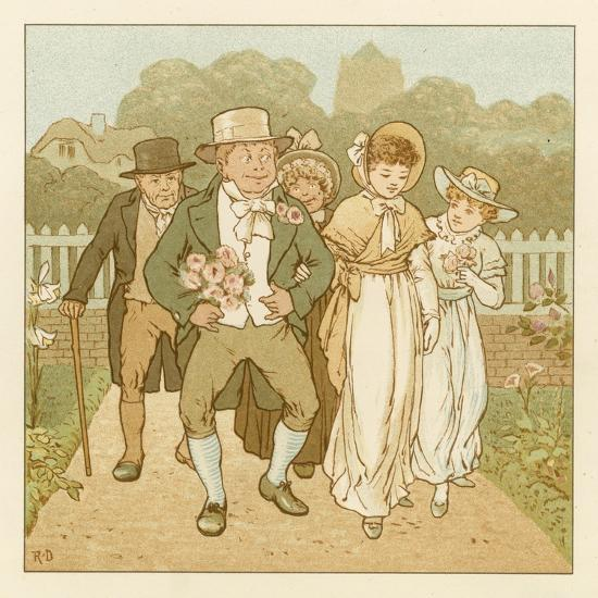 Depiction of the Month of June-Robert Dudley-Giclee Print