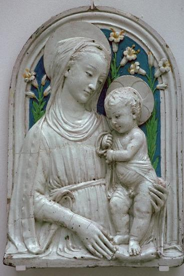 Depiction of the Virgin and Child. Artist: Unknown-Unknown-Giclee Print