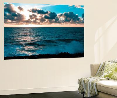 Depoe Bay Sunset I-Erin Berzel-Wall Mural