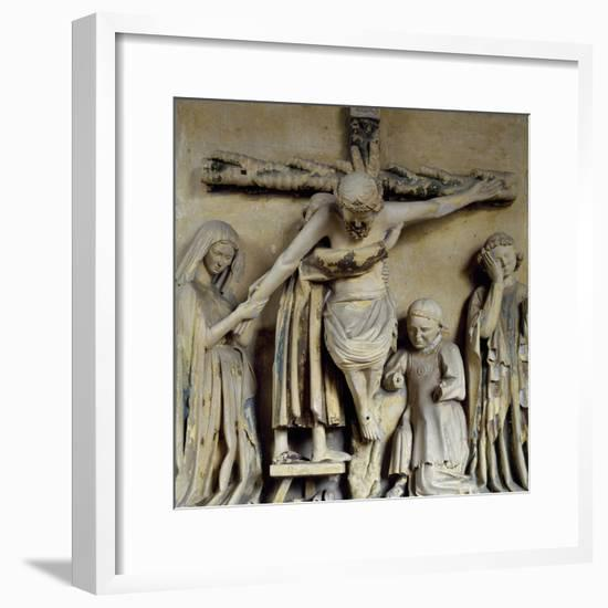 Deposition from Cross--Framed Giclee Print