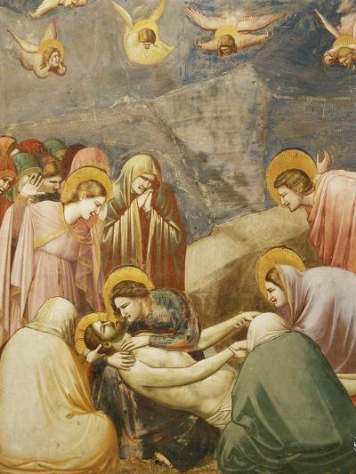 Deposition from the Cross, or The Lamentation, Fresco-Giotto di Bondone-Giclee Print