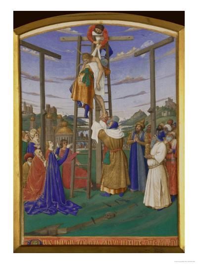 Deposition From the Cross-Jean Fouquet-Giclee Print