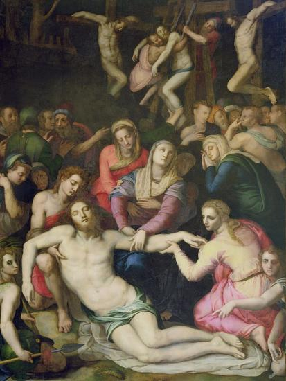 Deposition from the Cross-Agnolo Bronzino-Giclee Print