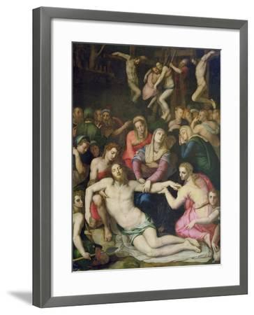 Deposition from the Cross-Agnolo Bronzino-Framed Giclee Print