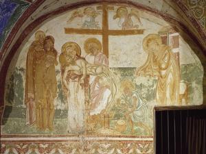 Deposition of Christ, Crypt Fresco, Patriarchal Basilica of Santa Maria Assunta