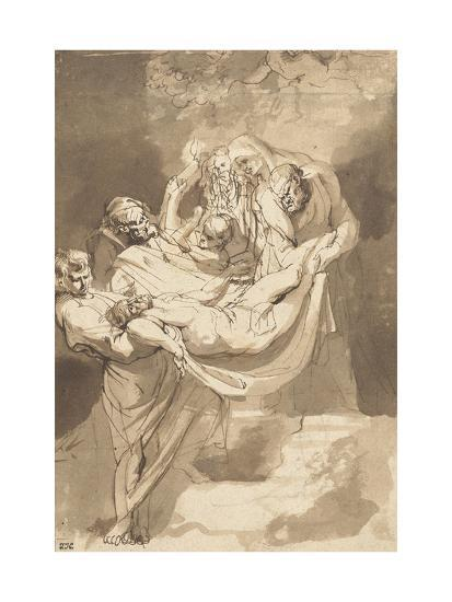 Deposition of Christ in Tomb, 1615-17-Peter Paul Rubens-Giclee Print