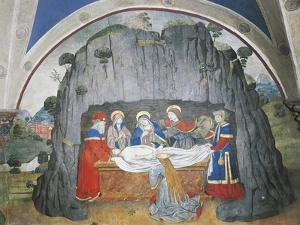 Deposition of Christ, Issogne Castle Oratory, Italy, 15th-16th Centuries