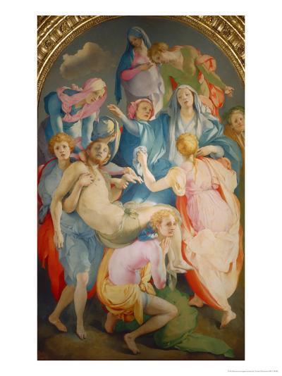 Deposizione-Jacopo da Carucci Pontormo-Giclee Print