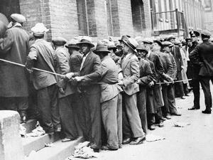 Depression: Harlem, 1931