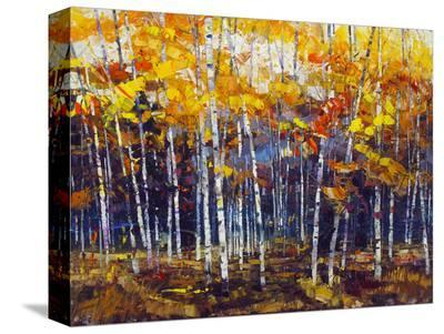 Depth of Autumn-Robert Moore-Stretched Canvas Print