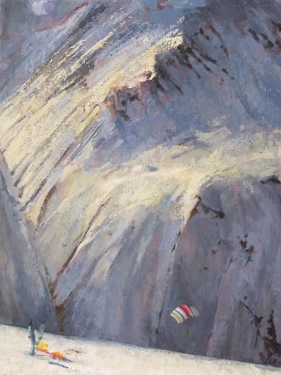 Depths - Val D'Isere-Bob Brown-Giclee Print