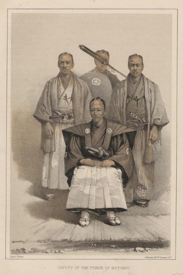 Deputy of the Prince of Matsmay, 1885-Eliphalet Brown-Giclee Print