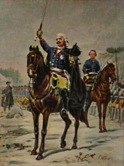 'Der Alte Dessauer 1676-1747. - Gemälde von Camphausen', 1934-Unknown-Giclee Print