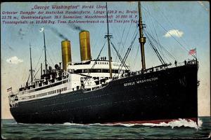 Der Dampfer George Washington, Norddt, Lloyd Bremen