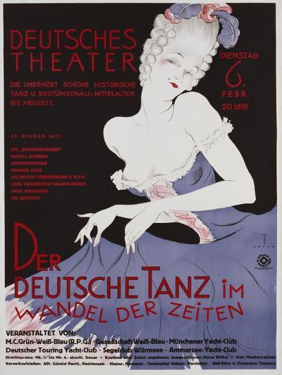 Der Deutsche Tanz Poster-E. Bohm-Giclee Print