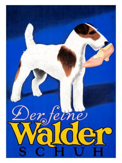 Der feine Walder Schuh--Giclee Print