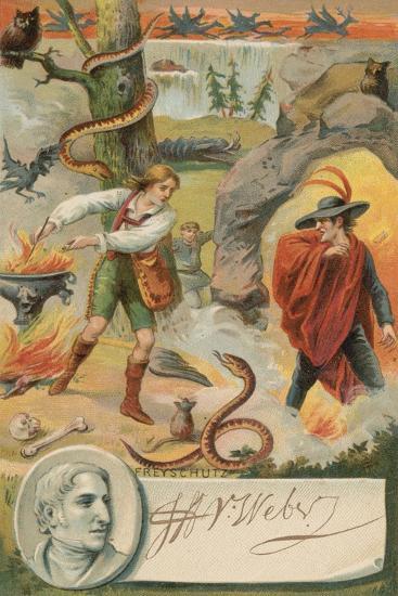 Der Freischuetz--Giclee Print
