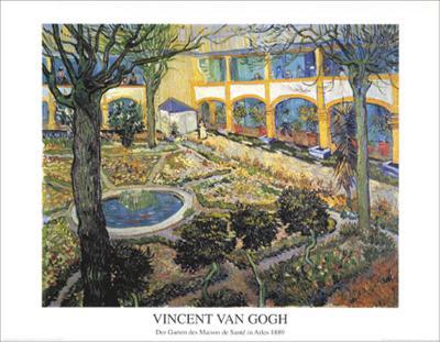 Der Garten des Maison-Vincent van Gogh-Art Print
