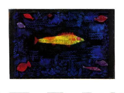 Der Goldene Fisch-Paul Klee-Art Print