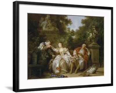 Der Heimliche Liebhaber-Jean-Baptiste Le Prince-Framed Giclee Print