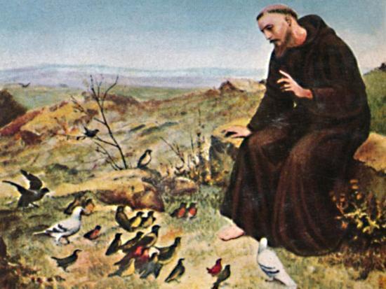 'Der Hellige Franz von Assisi 1182-1226', 1934-Unknown-Giclee Print