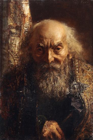 Der Rabbi Von Baghdad, C.1851-Adolph Friedrich Erdmann von Menzel-Giclee Print
